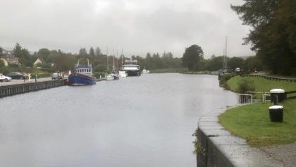 Along the Caledonian Canel