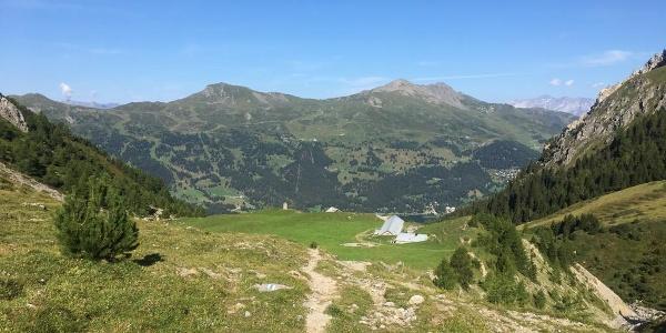 Alp Sanaspans und das Stätzerhorn