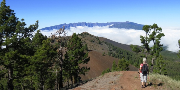 Sicht zum letzten Gipfel