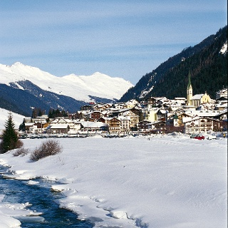 Winterwanderweg in Ischgl