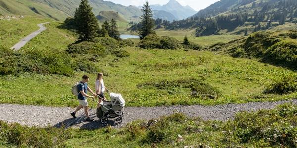 Wandern mit dem Kinderwagen