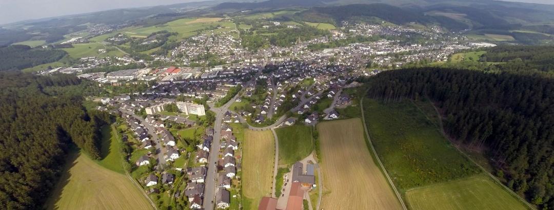 Luftaufnahme Bad Berleburg