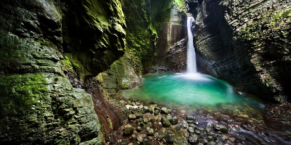 Kozjak Waterfall, Kobarid