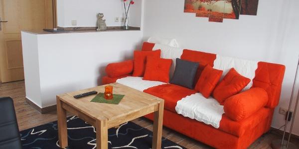 Wohnbereich Appartement Schweizerhaus