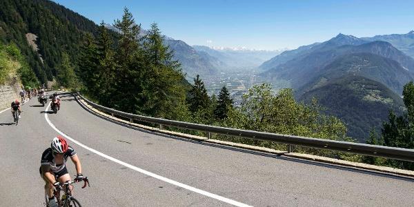 Col de la Forclaz pendant le Tour de France