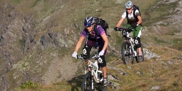 Pischa MTB Bikes Abfahrt