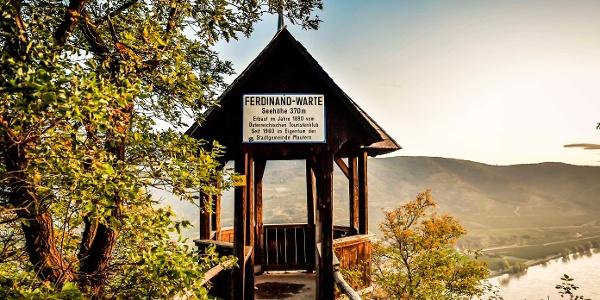 Ausblick von der Ferdinand-Warte