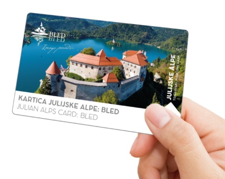 Julian Alps Card: Bled