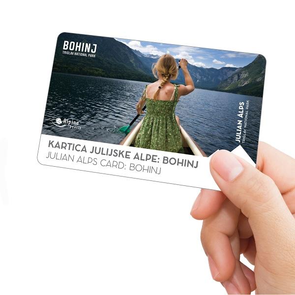 The Julian Alps Card: Bohinj