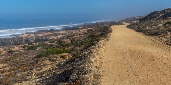 Gravel Road Beside Beach