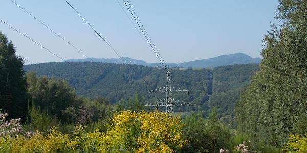 Blick auf den Oechsenberg