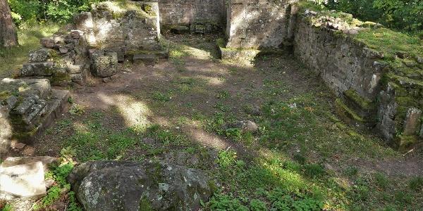 Ruines de la chapelle Saint Jacques