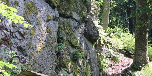 Felsformation Wildweiberhäuschen