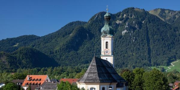 Pfarrkirche St. Jakob in Lenggries
