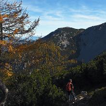Descending from Feistritzer Spitze