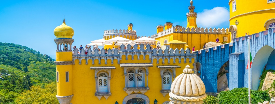 Colourful Pena Palace