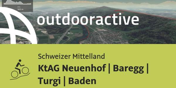 Mountainbike-tour im Schweizer Mittelland: KtAG Neuenhof | Baregg | Turgi | Baden