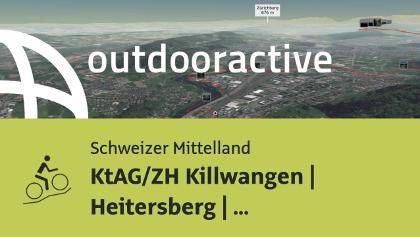 Mountainbike-tour im Schweizer Mittelland: KtAG/ZH Killwangen | Heitersberg ...