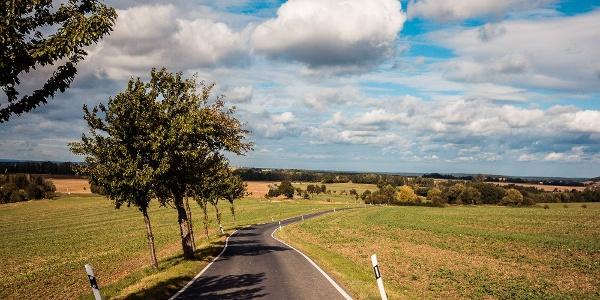 Schöne Straßen im Hochland