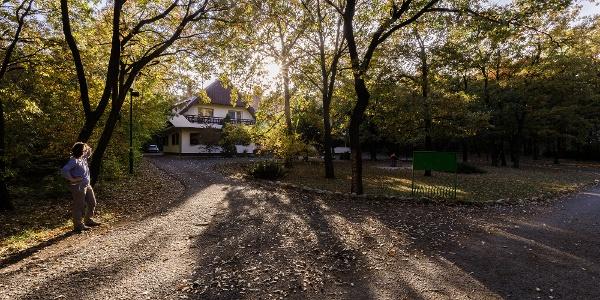 A Zseri vadászház Fehérvárcsurgó közelében
