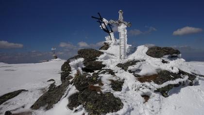 Gipfel des Varful Cindrel (2244 Hm)