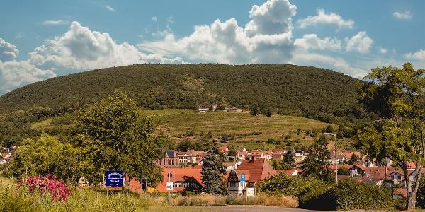 Blick auf den Kirchberg
