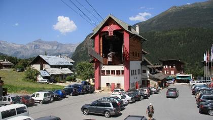 Seilbahn in Les Houches