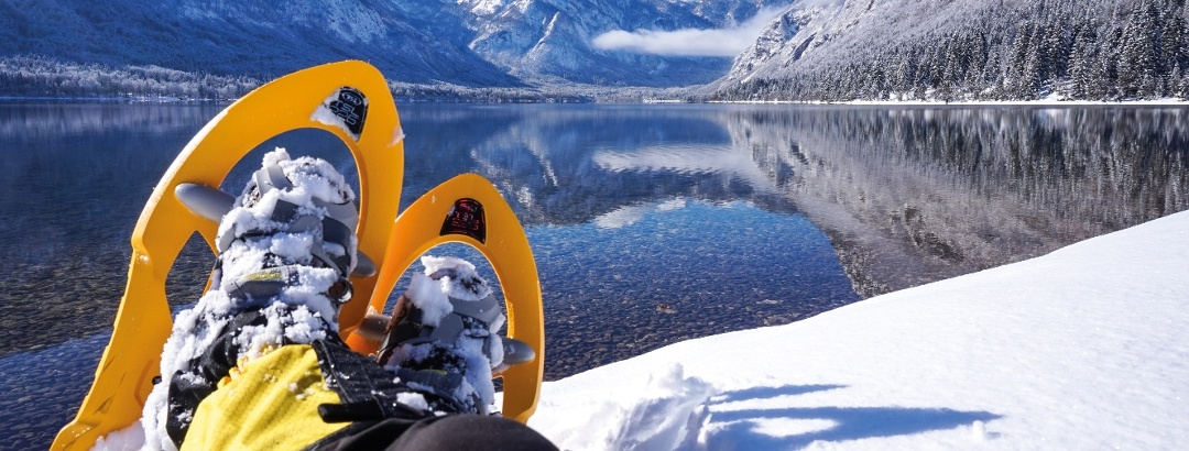 Lake Bohinj in Winter