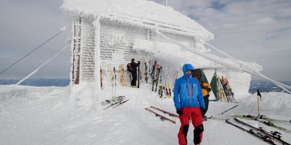 Zirbitzschutzhaus fast am Gipfel