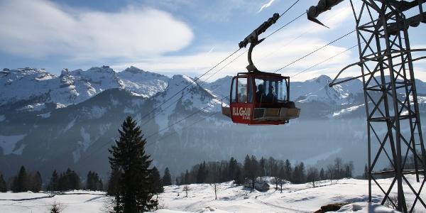 Luftseilbahn Illgau-St.Karl