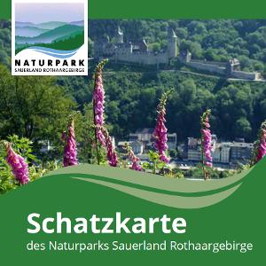 Schatzkarte des Naturparks Sauerland-Rothaargebirge