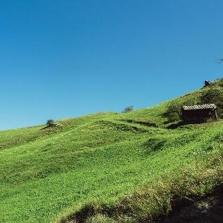 Übersachsen: Huanzahütte am Lauterwieseck