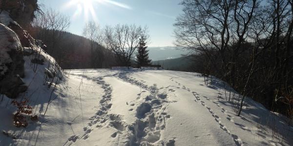 Traumhafte Ausblicke in Küstelberg