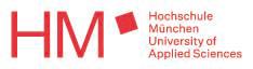 Logo Fakultät für Tourismus - Digital Marketing & Management - Hochschule München