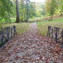 Der Marienberger Park, sehr romantisch und beruhigend