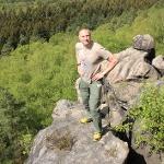 Auf dem Pfaffenstein in der Sächsischen Schweiz