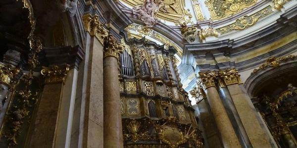 Orgel der Klosterkirche Weltenburg