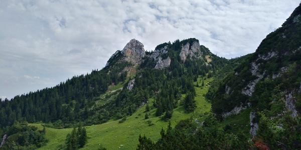 Blick Richtung Brauneck