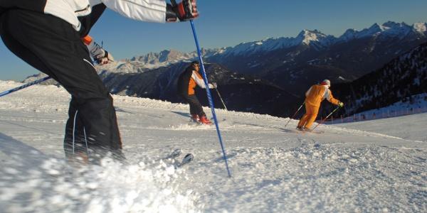 Piste da Sci a Pampeago, Predazzo, Obereggen, Trentino