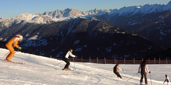 Skigebite Pampeago-Predazzo-Obereggen, die Pisten des Ski Centers