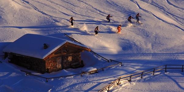 Pampeago-Predazzo-Obereggen, Skifahren im Dolomiti Superski Karussell