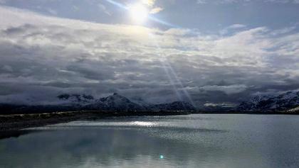 Traumhaftes Panorama am Lej Alv