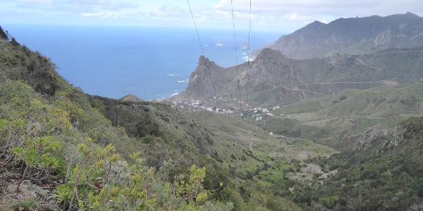 Blick auf Taganana