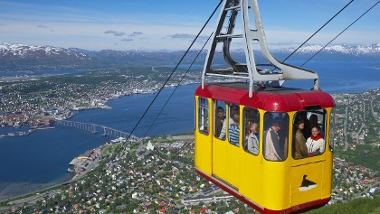 Tromsø panorama from Cable car