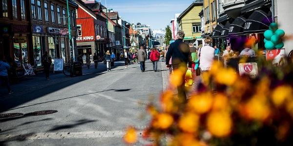 Street in Tromsø