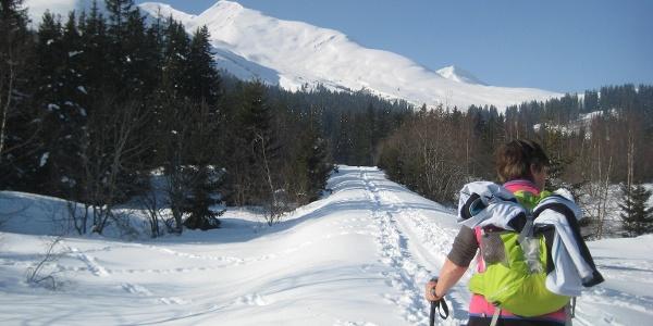 Richtung Alp Pazzola
