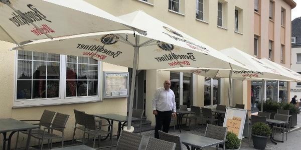 Restaurant Zagreb - Terrasse