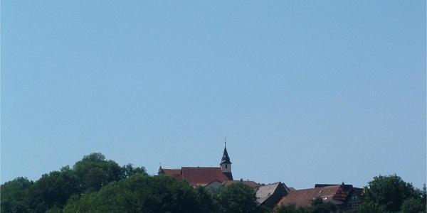 Blick auf Jagstberg