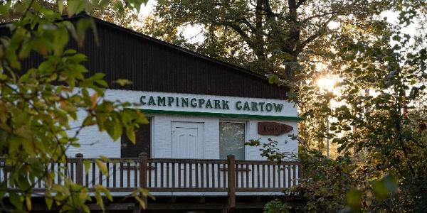 Eingang zum Campingpark Gartow