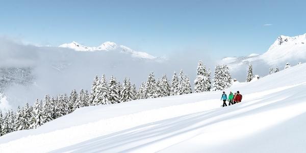 Winterwandern in Lenzerheide